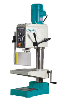 "Clausing Ibarmia 19.7"" Geared-Drive Round-Column Tapping Drill, TM25RS"