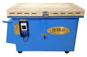 "Denray 28"" x 48"" Wood Sanding Down Draft Table, 2800"