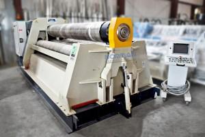 Carell 10′ x 3/4″ Fully Hydraulic CNC 4-Roll Plate Roll, 4RH-PBS-NC-20/5