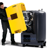 Kaeser 4 hp 16 CFM Airtower™ Rotary Screw Air Compressor with Built-in Dryer, 4C
