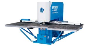 "Boschert 30"" x 80"" CNC Punching Machine, CP-750"