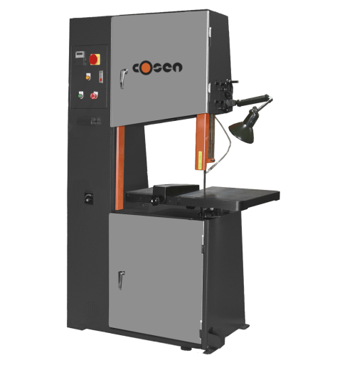 "Cosen 12"" x 23"" Vertical Contour Band Saw, VCS-600"