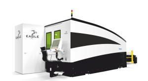 "Eagle eVision Series 160"" x 80"" Fiber Laser Cutting System, 2040"