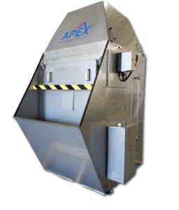 Apex 2,750 CFM Stainless Steel Wet Style Dust Collector, PWDC-10HP
