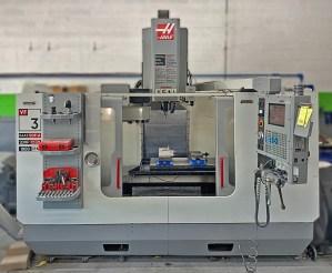 "Haas 40"" x 20"" Dual Drive Vertical Machining Center, VF-3D"