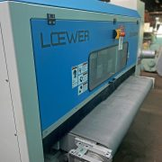 """Loewer 60"""" DiscMaster Disc Grinder with Niagara Dust Collector, 4TD-1500"""