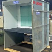 Col-met 36″ x 60″ Open Front Bench Type Spray Paint Booth, IBB-05-07-03-00-S