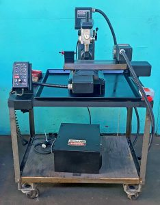 """Servo 4-Axis 10"""" CNC Mini Mill with Rotary Table, M-7844-842"""