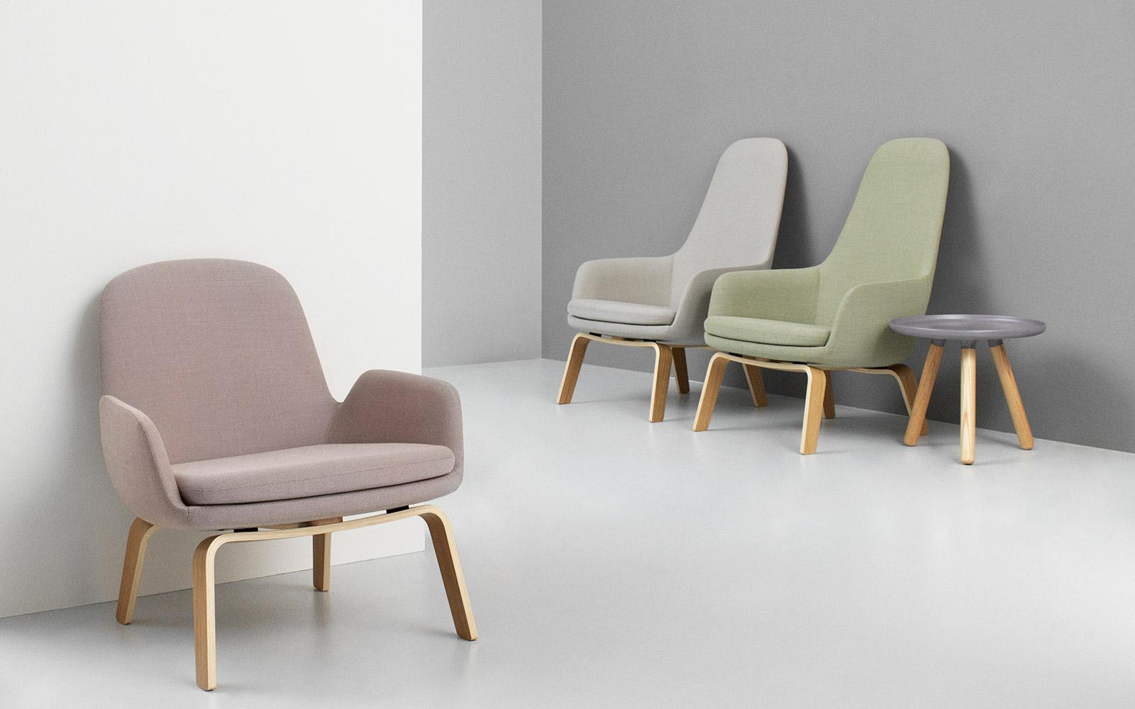 normann copenhagen sofa era sectional navy blue lounge chair | a modern and classic