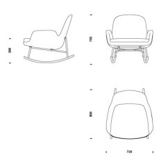 Swing Chair Drawing Office Heavy Duty Download 2d 3d Cad Files Era Rocking Low