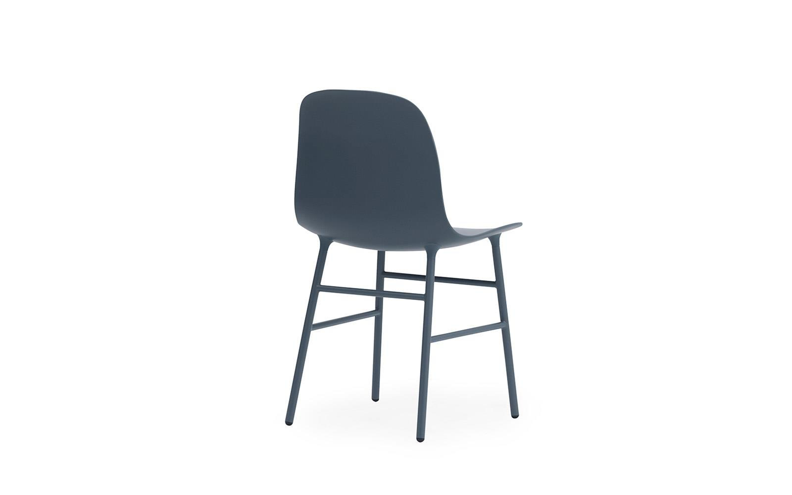 chair steel legs ralph lauren dining chairs form molded plastic shell with steel4
