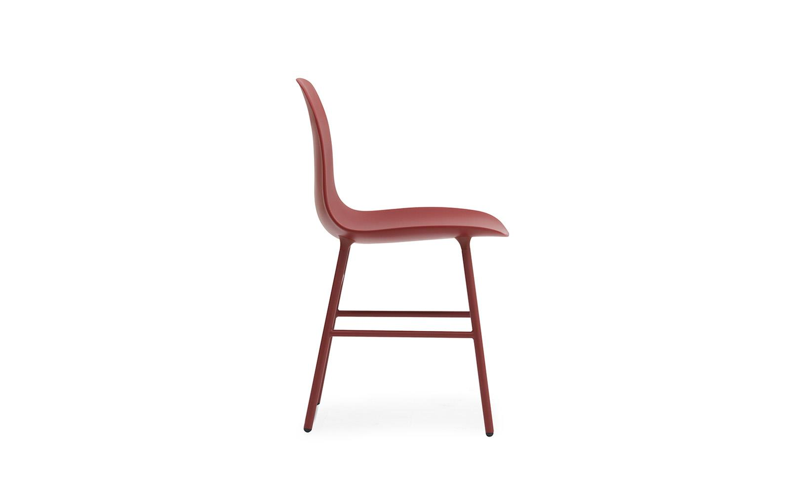 chair steel legs bedroom malaysia form molded plastic shell with steel3