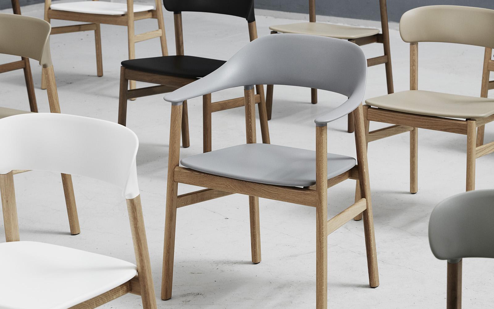 copenhagen dining chairs white wood kitchen herit chair smoked oak dusty green