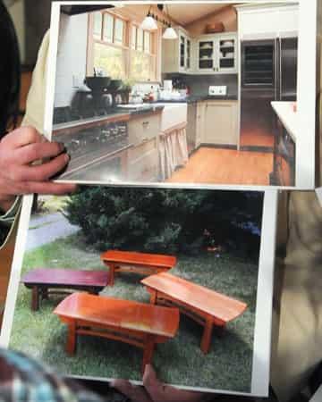 Martha Stewart kitcen and table designs
