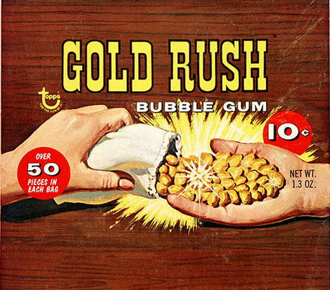 gold rush candy
