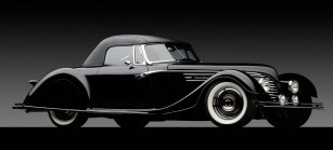 1932 Ford Speedster-front 3q dark
