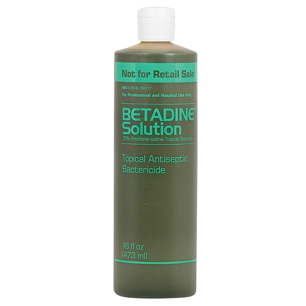 Betadine Solution 16 oz bottle - INFECTION CONTROL ...