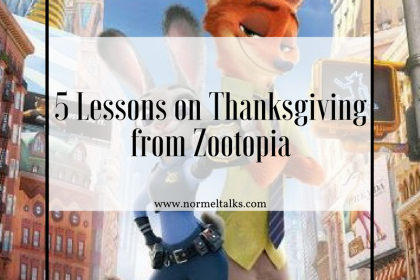 zootopia and thanksgiving