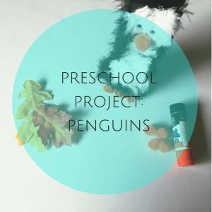 Preschool Activity: Penguins