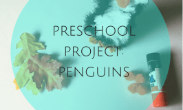 Preschool Activity: Penguins