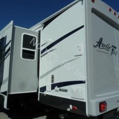 California Sofa Mfg Tufted Turquoise New 2016 Northwood Arctic Fox 28f Travel Trailer For ...