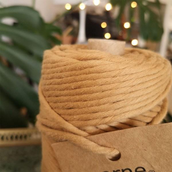 bomuldssnor i brun fra norne®
