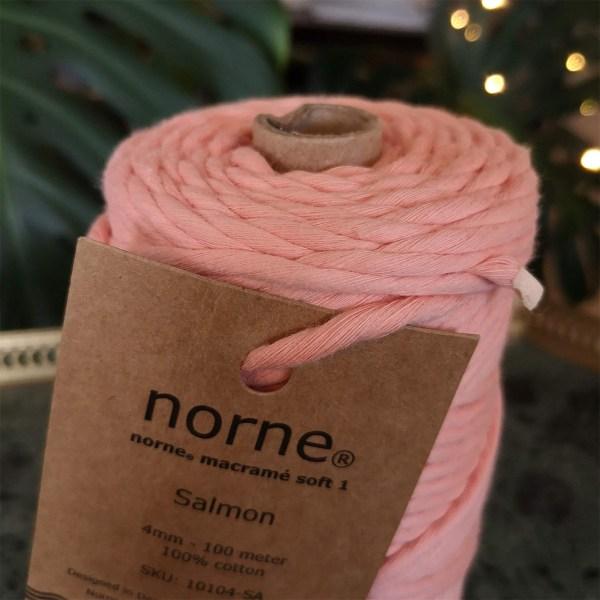 norne® macramé soft 1 salmon