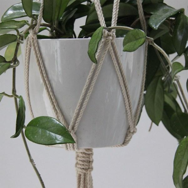 naturlig bomuld planteophæng
