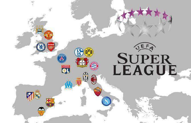 Anuncian SuperLiga europea; se avecina revolución entre clubes millonarios y UEFA