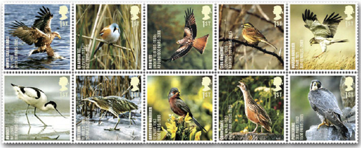 Stamp collecting Great Britain postage stamp programme for 2007  Norvic Philatelics
