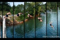 Jumping Off Norris Lake Bridge