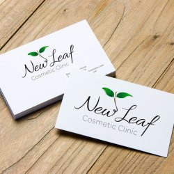 Logo design – New Leaf Cosmetic Clinic, Nelson Bay
