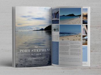 Magazine layout - advertising - brochrues - graphic design