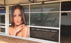 Logo Design - New Leaf Cosmetic Clinic - Nelson Bay