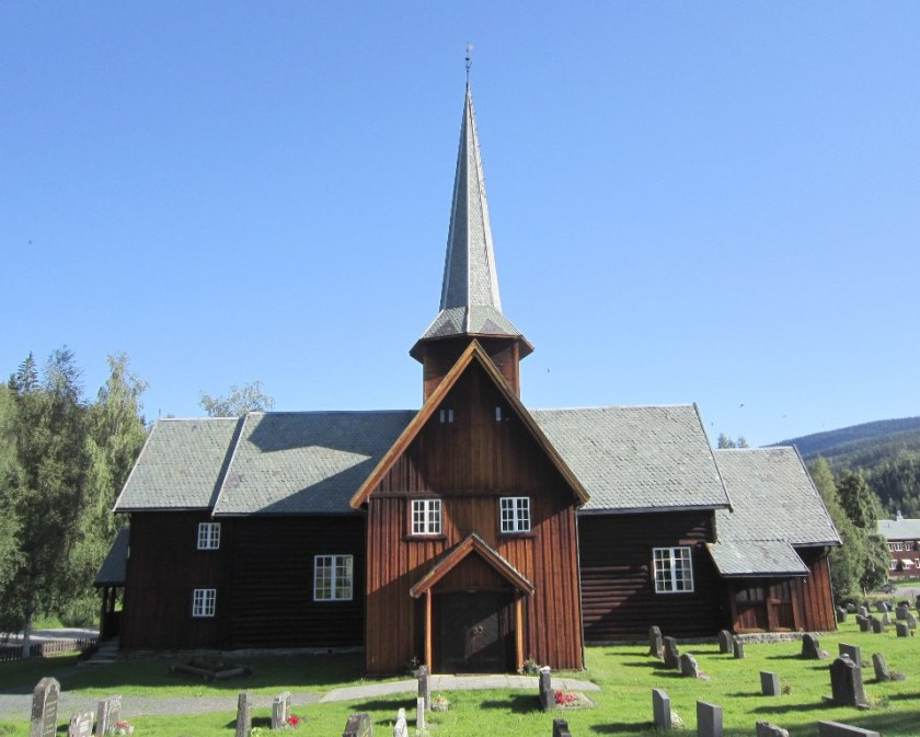 Bruflat kirke