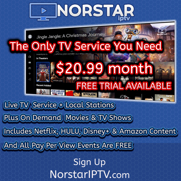 Norstar app on tv