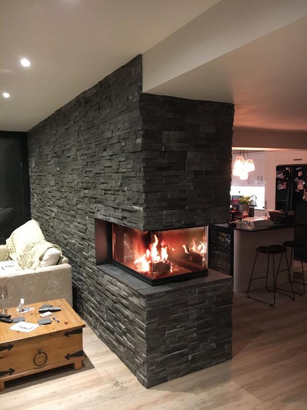 Fireplace Stone Cladding  Norstone Stone Cladding