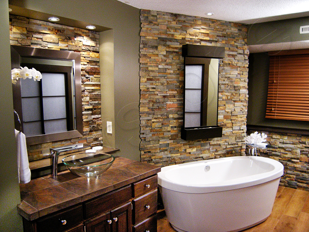 Standard Rock Panels  Stacked Stone Wall Cladding