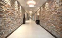 Interior Stacked Stone Veneer Wall Panels | Interior Stone ...