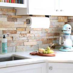 Kitchen Back Splash Faucet Sale Canada Natural Stacked Stone Backsplash Tiles For Kitchens And Bathrooms A Detail Worth Not Overlooking