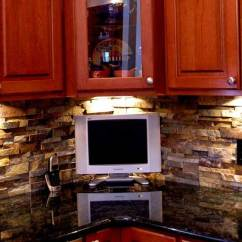 Stacked Stone Kitchen Backsplash Stainless Steel Utensil Set Natural Tiles For Kitchens And Bathrooms Norstone Veneer Rock Panels A Layered