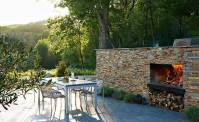 Natural Stacked Stone Veneer Fireplace | Stack Stone ...
