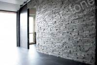 Charcoal Stacked Stone Veneer | Rock Panels for Walls by ...
