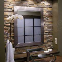Stone Kitchen Backsplash In Stock Cabinets Natural Stacked Tiles For Kitchens And Bathrooms Norstone Bathroom Tile Used On Hgtv Television Show Bathtastic