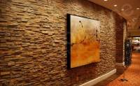 Interior Stacked Stone Veneer Wall Panels | Interior Wall ...