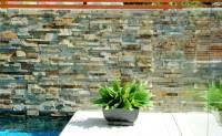 Natural Stone Pool | Stacked Stone Veneer Pools