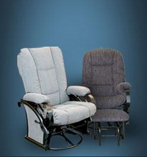 chaises sur billes