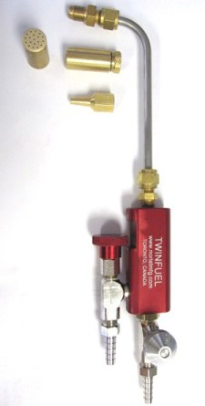 Twin Fuel Handtorch by Nortel
