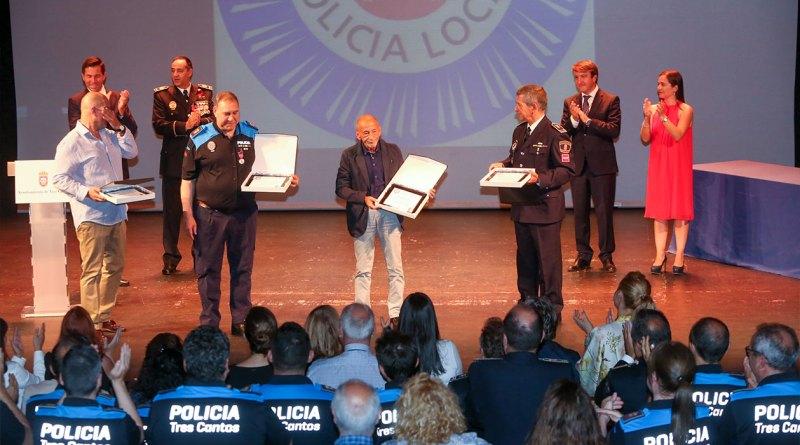 Premios Policía Local Tres Cantos Norte Tres Cantos
