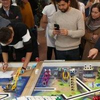 Los alumnos del IES José Luis Sampedro se prepara para el concurso de robótica First Lego League